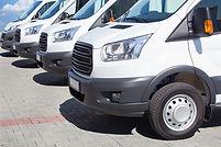 White Minibuses