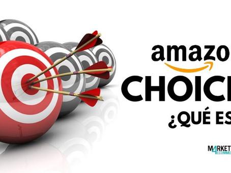 ¿Qué es Amazon Choices?