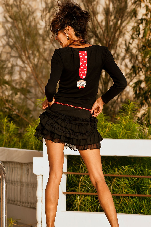 Vestido corto by Martavalbuena.com moda original para mujer