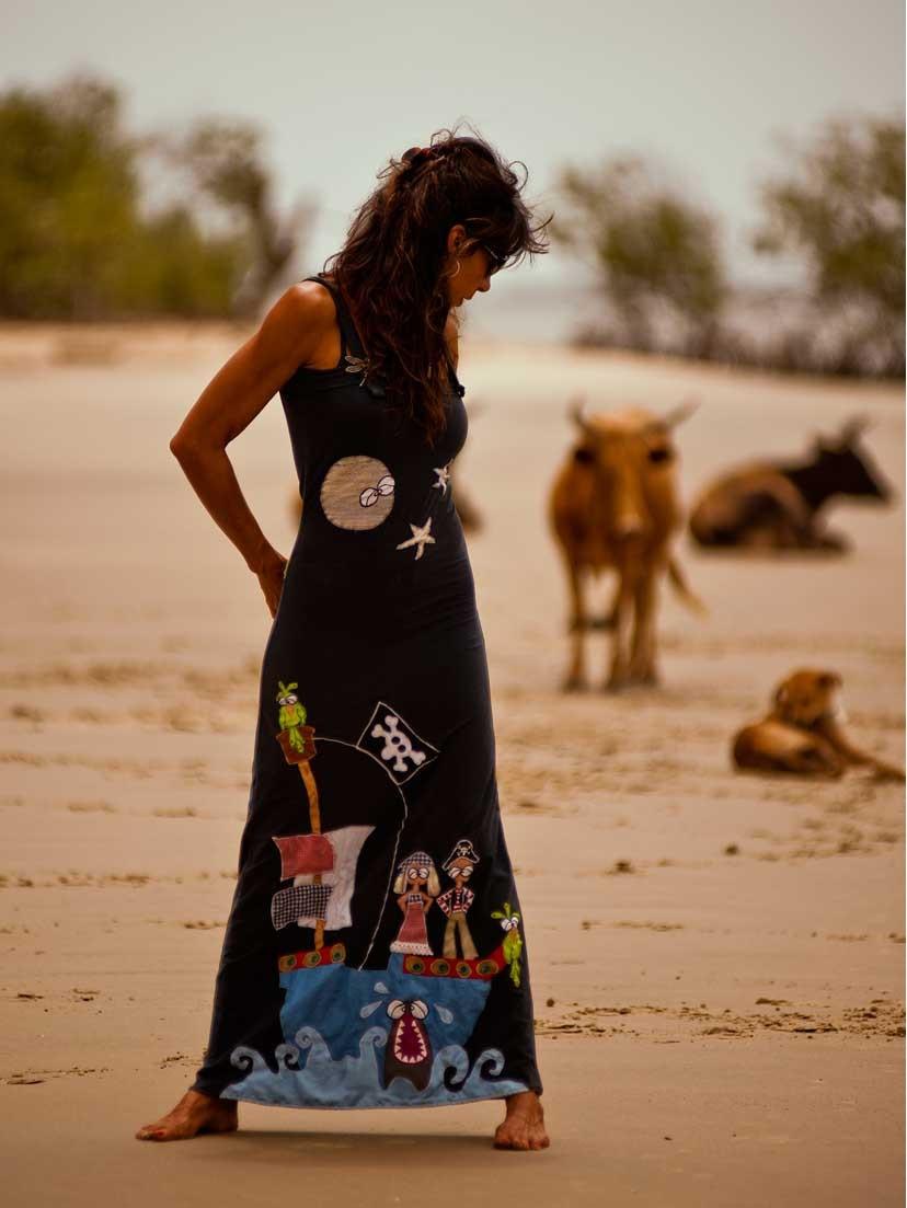 Vestido africa by Martavalbuena, las tendencias africanas en la moda femenina