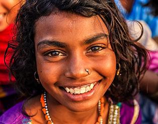 Indian Girl feliz