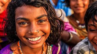 Happy Indian Girl