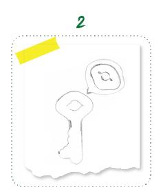 סקיצה של מפתח