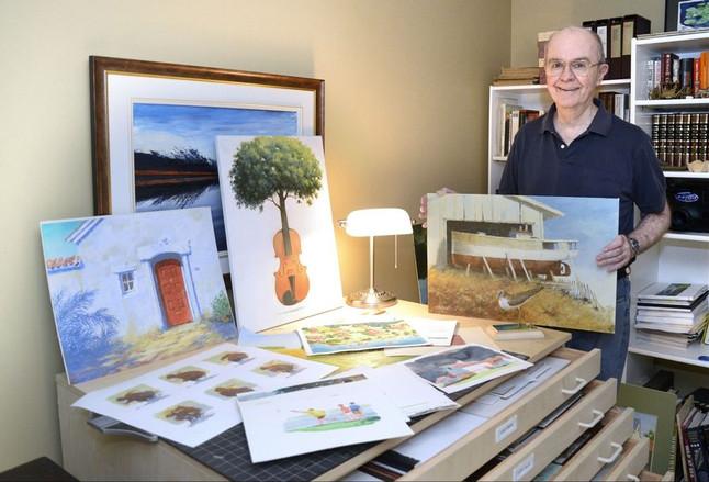 Daily Herald Article Profiles Bert Hoddinott and Reflections