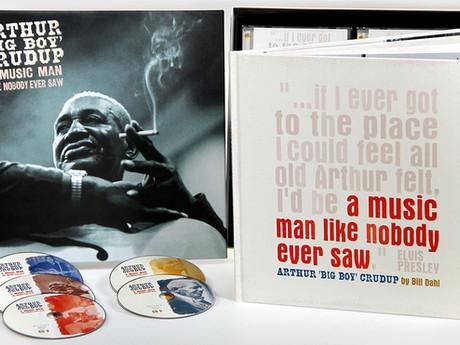 """A Music Man Like Nobody Ever Saw —Arthur """"Big Boy"""" Crudup"""
