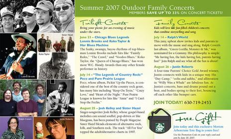 Buckslip for summer mailer (front)