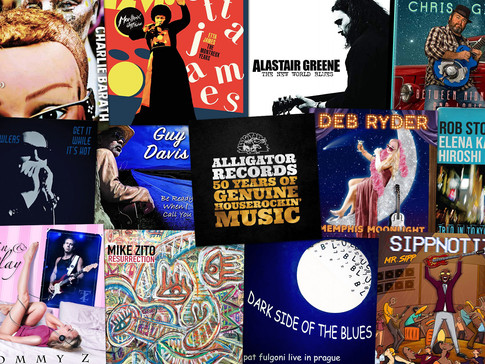 Marty Gunther's Red, Hot 'n Blues Music Reviews - July 2021