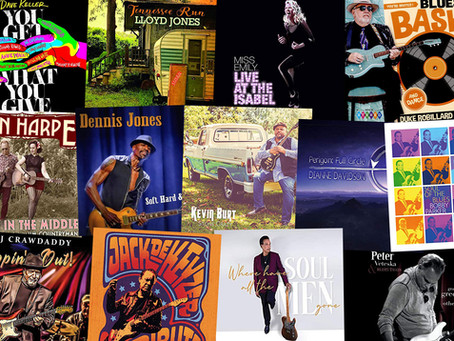 Marty Gunther's Red, Hot 'n Blues Music Reviews - January 2021