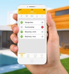 Mobil app fra Jablotron