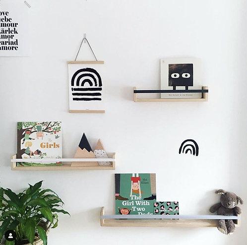 Bookshelf - Solid Ash Hardwood