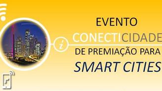 Evento CONECTICIDADE de Premiação para Smart Cities
