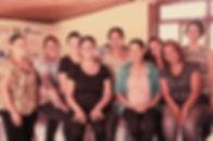 Grupo participante do Atelie Social Casa de Mae