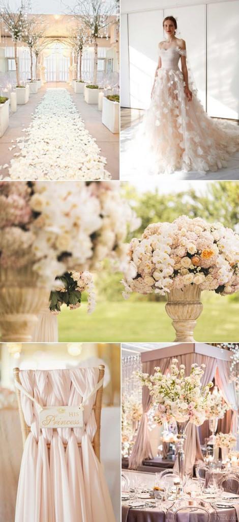Fairy tale wedding theme ideas - photos