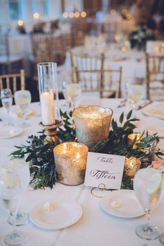 ideas for decoratin winter wedding tables