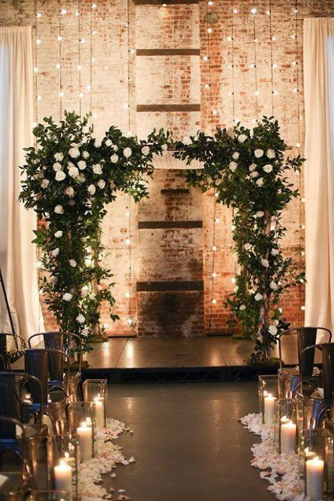 ideas for winter wedding decoration venue