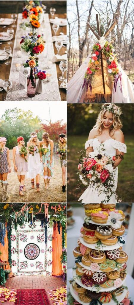 Boho wedding ideas - photos