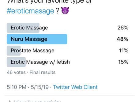What's Trending in Erotic Massage?