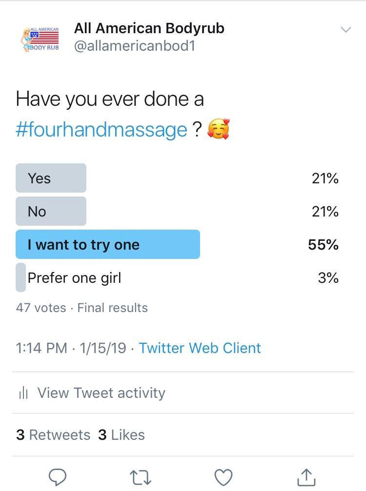 Four Hand Massage NYC
