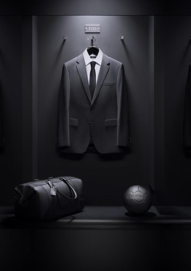 Hugo Boss Dressing Room