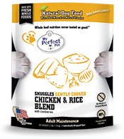MY PERFECT PET DOG SNUGGLES CHICKEN & RICE BLEND 3.5LB