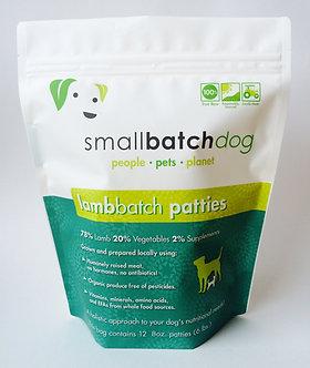SMALL BATCH FROZEN LAMB PATTIES 6LB