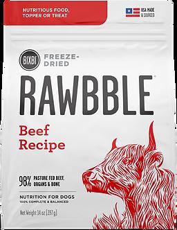 BIXBI FREEZE DRIED RAWBBLE BEEF RECIPE
