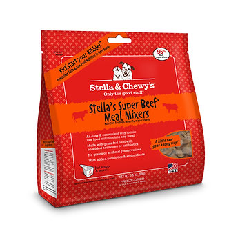 STELLA & CHEWY'S FREEZE DRIED BEEF MEAL MIXERS