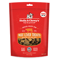 STELLA & CHEWY'S FD BEEF LIVER TREATS