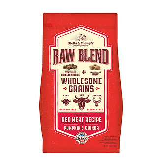 STELLA & CHEWY'S WHOLESOME GRAIN RAW BLEND RED MEAT