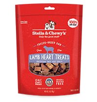 STELLA & CHEWY'S FD LAMB HEART TREATS