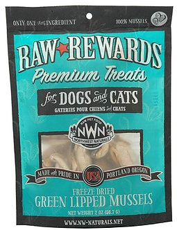 NORTHWEST NATURALS FREEZE DRIED GREEN LIPPED MUSSELS TREATS