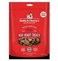 STELLA & CHEWY'S FD BEEF HEART TREATS