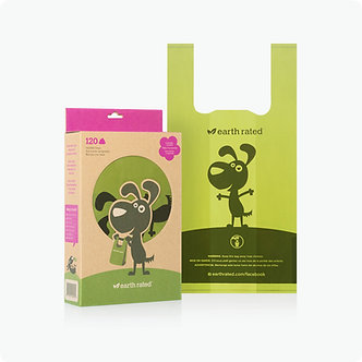 EARTH RATED HANDLE BAGS 120CT