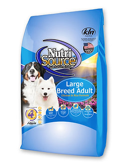 NUTRISOURCE LARGE BREED ADULT CHICKEN & RICE