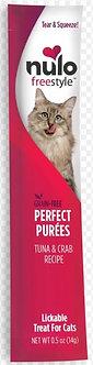 NULO CAT PUREES TUNA & CRAB