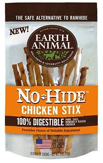 EARTH ANIMAL NO-HIDE CHICKEN STIX 10PK