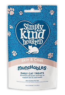 SIMPLY KIND HEARTED MUNCHABLES SKIN & COAT