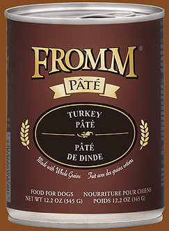 FROMM GOLD TURKEY PATE' 12.2OZ