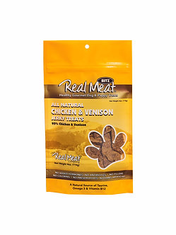 REAL MEAT CHICKEN & VENISON TREATS