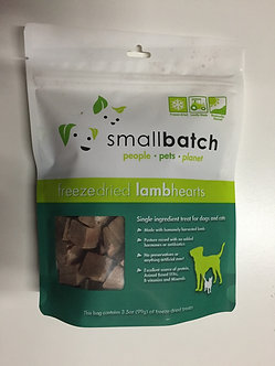 SMALL BATCH FD LAMB HEART TREATS 3.5OZ