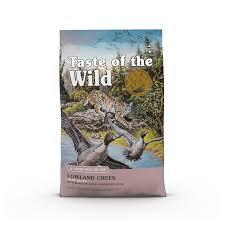 TASTE OF THE WILD CAT LOWLAND CREEK 5LB