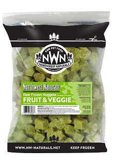 NORTHWEST NATURALS FROZEN RAW FRUIT & VEGGIE NUGGETS 2LB