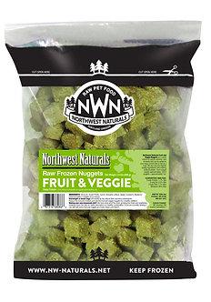NORTHWEST NATURALS FROZEN RAW FRUIT & VEGGIE NUGGETS 2LB