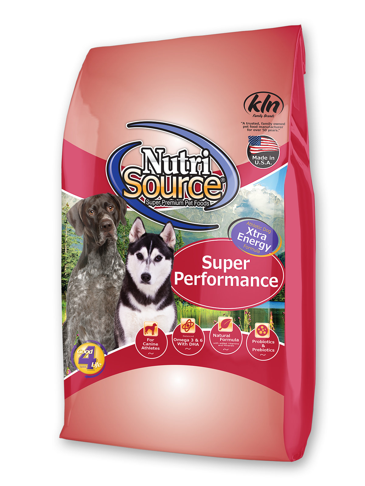 Nutrisource Super Performance 40lb The Paw Spa