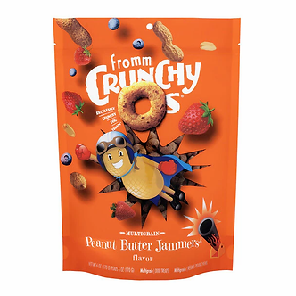 FROMM CRUNCHY O'S PEANUT BUTTER JAMMERS