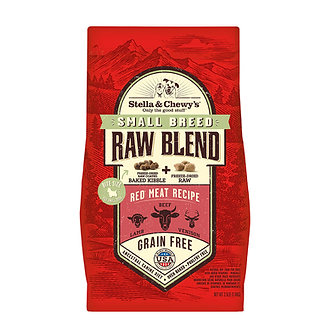 STELLA & CHEWY'S SMALL BREED RAW BLEND RED MEAT