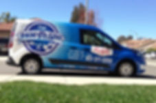 The Paw Spa Pet Food Home Delivery Service Van