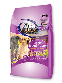 NUTRISOURCE LARGE BREED PUPPY CHICKEN & RICE 30LB