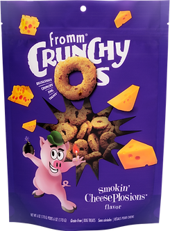FROMM CRUNCHY O'S SMOKIN' CHEESEPLOSIONS