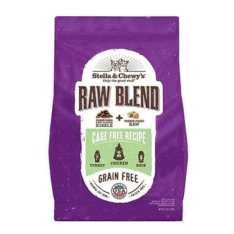 STELLA & CHEWY'S CAT RAW BLEND CAGE FREE CHICKEN